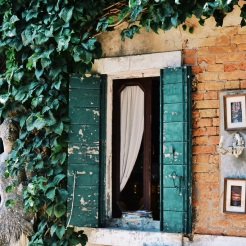 Rustic window
