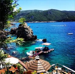 The paradise at Corfu
