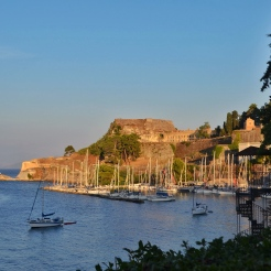 Sunset at Corfu